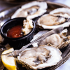 Half Shell Oysters with Lemon